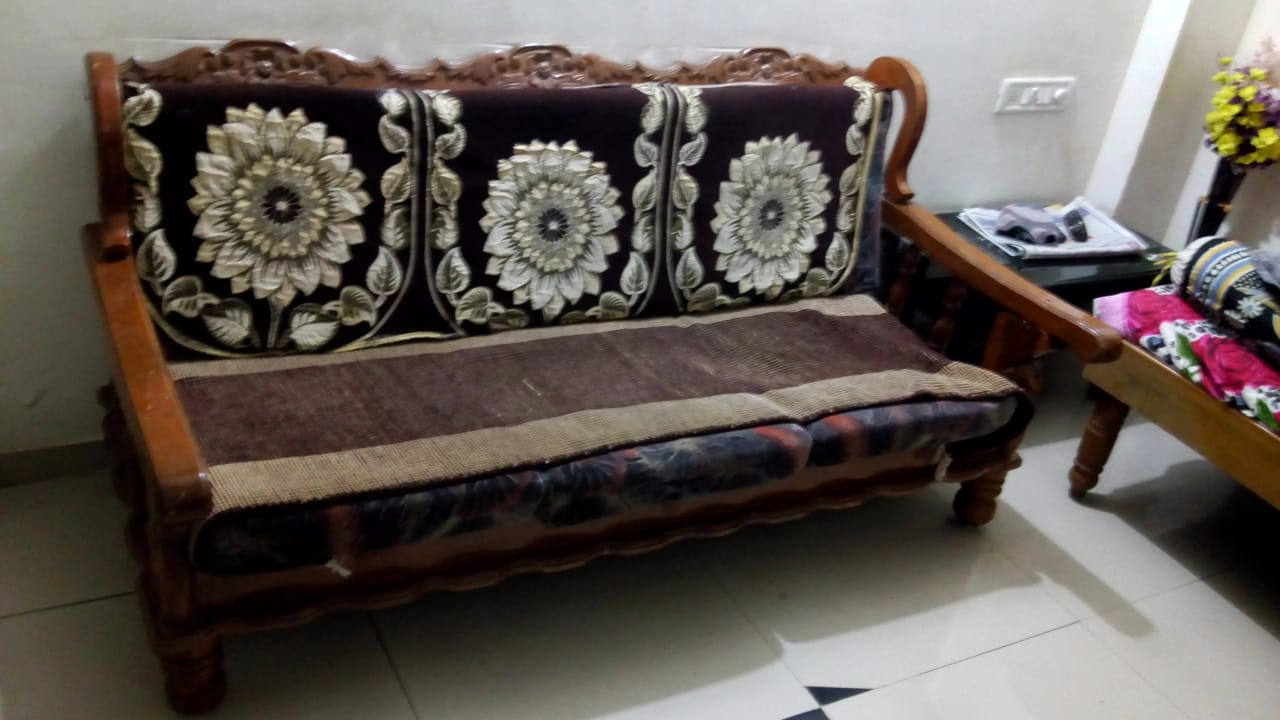 3 1 1 Solid Teak Wood Sofa Set All India Bazaar Buy Or
